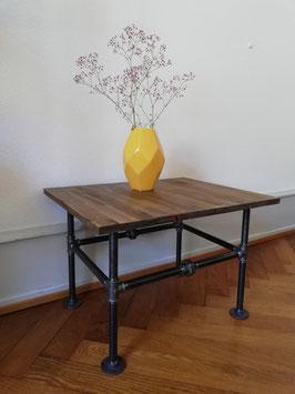 Vintage Sofatisch Industrie Tisch aus Rohren Industrial Style Wohnzimmertisch Steampunk Design