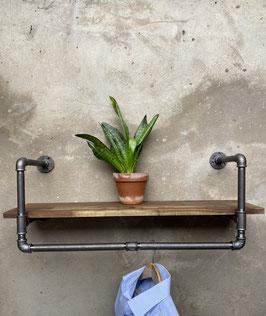 Mode Boutique Einrichtung Schweiz Systemregal modular anpassbar als Rohrregal im Design Stil Modegeschäft Dekoration
