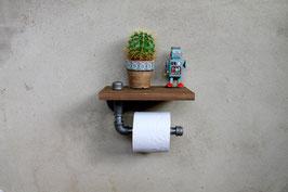 Loft Toilette WC Deko Papierhalter Halter Toipapierhalter Klopapierhalter Abroller Papier Toilettenpapier Vintage Retro Industrial Stil