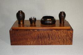 ツタエルキモチS +拭き漆仕上げ木製台付き