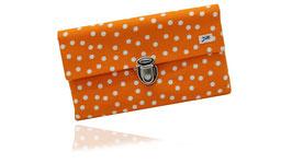 Orange gepunktet / Orange