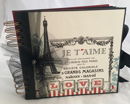 "Premade KIT Paris-Love 8"" x 8"" inches"