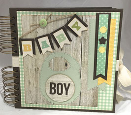 "Premade KIT Baby Boy 8"" x 8"" inches"