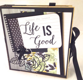 "Premade KIT Life is Good 8 1/4"" x 9"" inches"