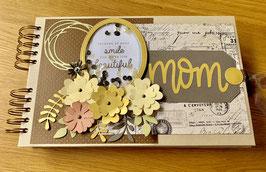 "Premade KIT MOM  Journal/Photo Album  11"" x 7"" inches"