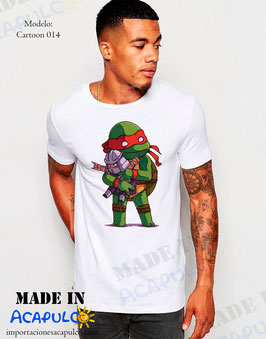 Raphael y Shredder Abrazo - Tortugas Ninja