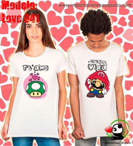 Eres mi vida, te amo - Mario Bross