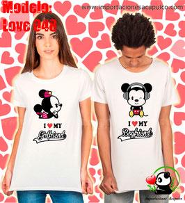 Mickey y Minnie - I love my girlfriend/boyfriend