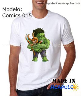 Hulk & Loki - Abrazo