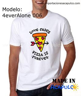 El amor se va... pero la pizza es para siempre