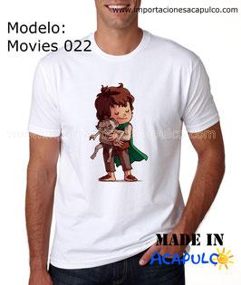 Frodo y Golum - Abrazo