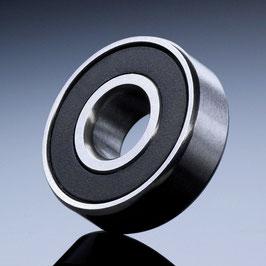 Roulement à billes acier 100c6 à joints 2-RS métrique