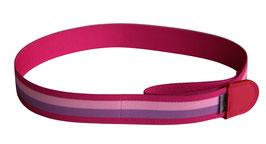Kindergürtel Streifen pink
