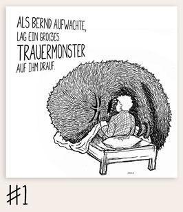 Trauermonster #1 - Aufwachen