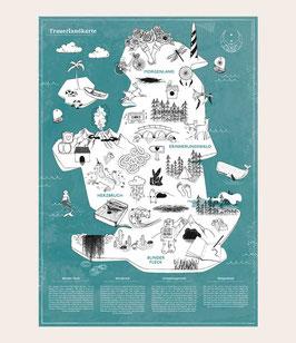 Trauerlandkarte