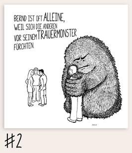 Trauermonster #2 - Alleine