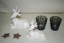 Keramik  Hirsch