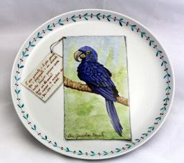 piatto torta Ara Giacinto d.cm 30