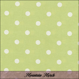 """Oilcloth """"Dusty Green Big Dots"""" by Au Maison"""
