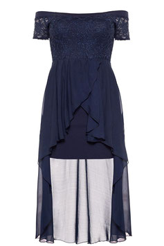 Cocktail-Kleid, blau