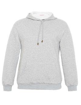 Kapuzen-Sweatshirt, grau