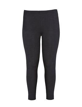Leggings Baumwolle, schwarz