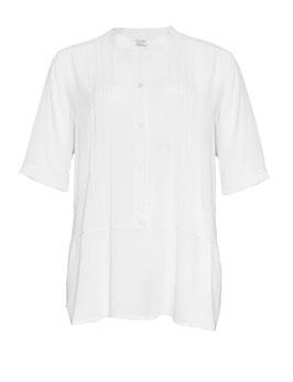 Kurzarm-Bluse, weiß