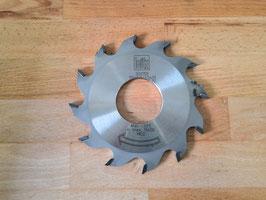 Nutfräser für Mech Vorschub LEITZ  HW, 150 x 5,0/3,5 x 50 mm