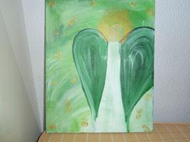 Schutzengel in Grün