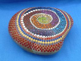 Stein Nr.7 Farbspirale