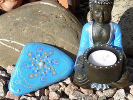 Set 60 Kleiner Buddha und Perlenstein