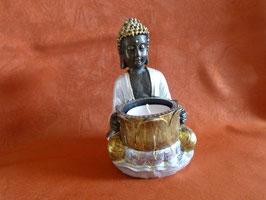 Buddha   silber gold