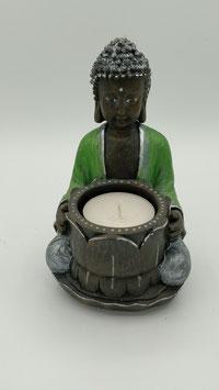 Kleiner Buddha in grün