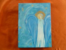 Schutzengel Himmelblau