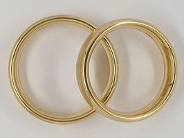 Verlobungs-/Trauringe Gelbgold Nr.2