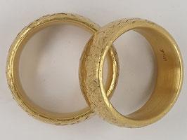 Verlobungs-/Trauringe Gelbgold Nr.1