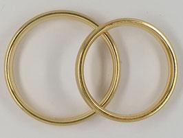 Verlobungs-/Trauringe Gelbgold Nr.3