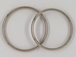 Verlobungs-/Trauringe Palladiumweißgold Nr.1