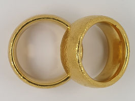 Verlobungs-/Trauringe Gold Nr.1