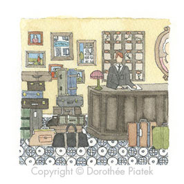 Le réceptionniste