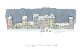 Mini promenade panoramique sous la neige