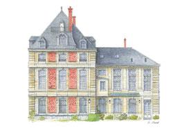 Carte postale de la maison natale de Gustave Flaubert