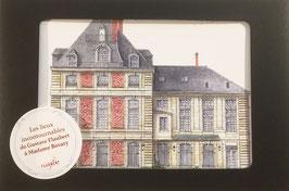 """Coffret 10 cartes postales """"Les lieux incontournables de Gustave Flaubert à Madame Bovary"""""""