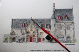 Porterie de l'abbaye de jumièges