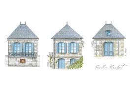 Carte postale Le Pavillon Flaubert - Croisset (76) Vestige de la propriété où vécu Gustave Flaubert à partir de 1843