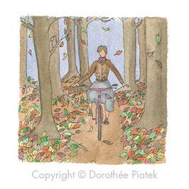 Automne à vélo