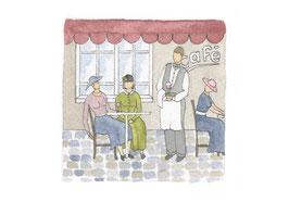 Café aquarelle originale 2