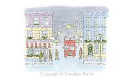 Mini promenade Londres sous la neige