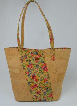 "Shopper aus Kork ""flowers"""