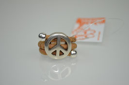 "Ring aus Kork ""Peace"""